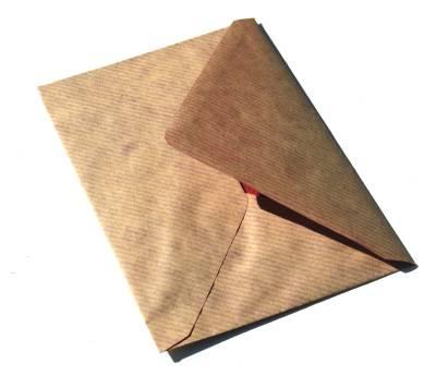 Una carta como regalo de cumpleaños