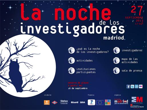 La noche de los investigadores en Madrid