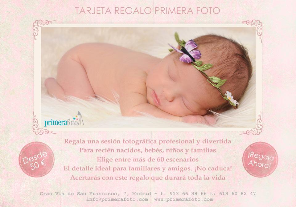 Tarjeta Regalo Primera Foto - FB