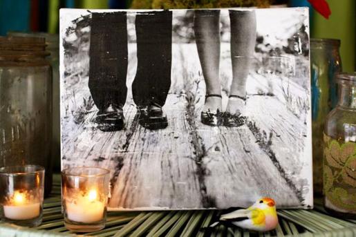 Cómo transferir tus fotografías a un lienzo