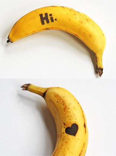 Plátanos tatuados