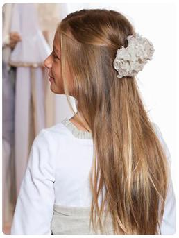 seguro que muchos de vosotros estis muy atareados con las prximas comuniones de vuestros hijos - Peinados De Comunion Sencillos