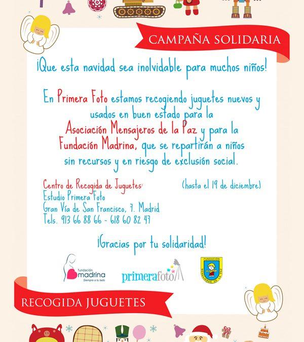Campaña Solidaria de Recogida de Juguetes. ¡Participa!