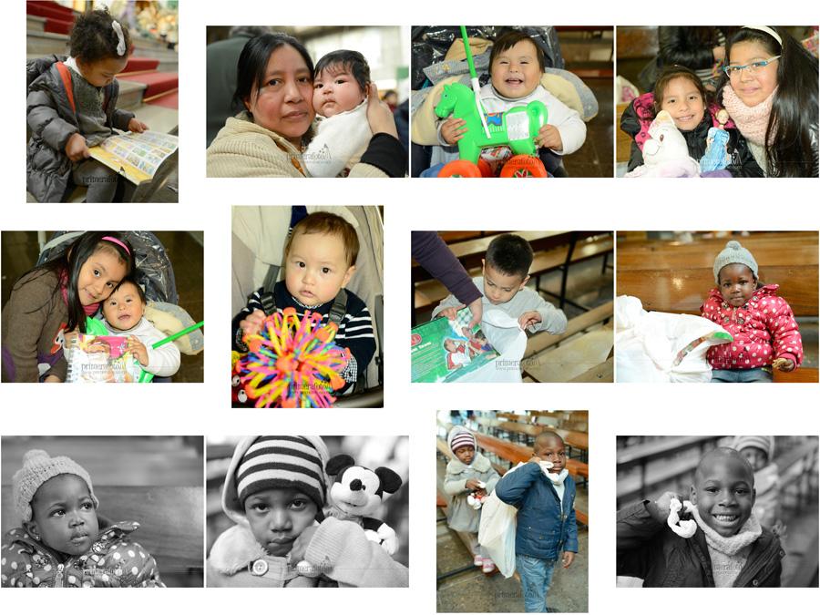 La Fundación Madrina entrega cientos de regalos