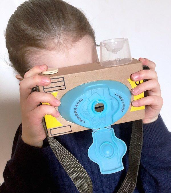 Cómo construir una cámara fotográfica de cartón
