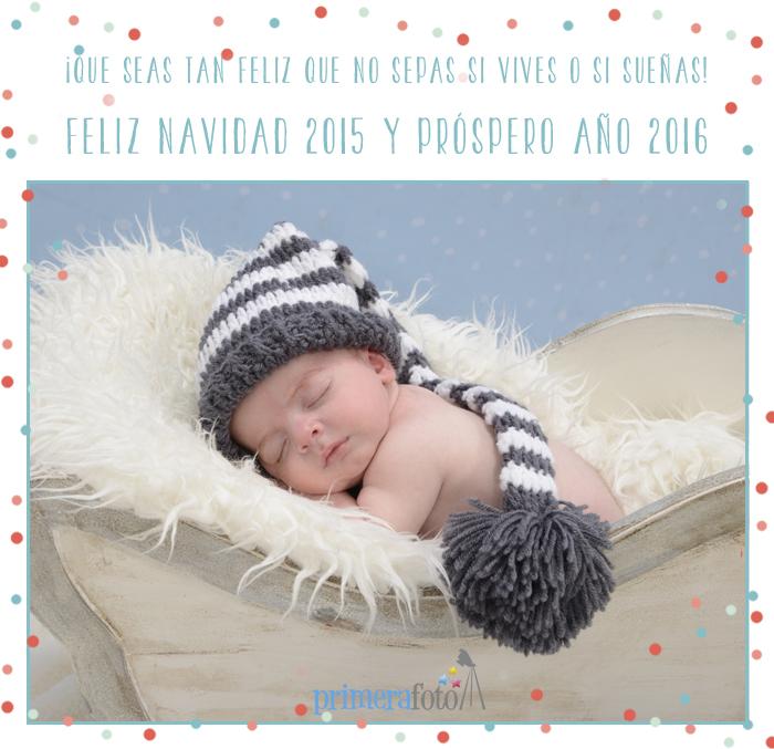 Primera Foto te desea Feliz Navidad 2015