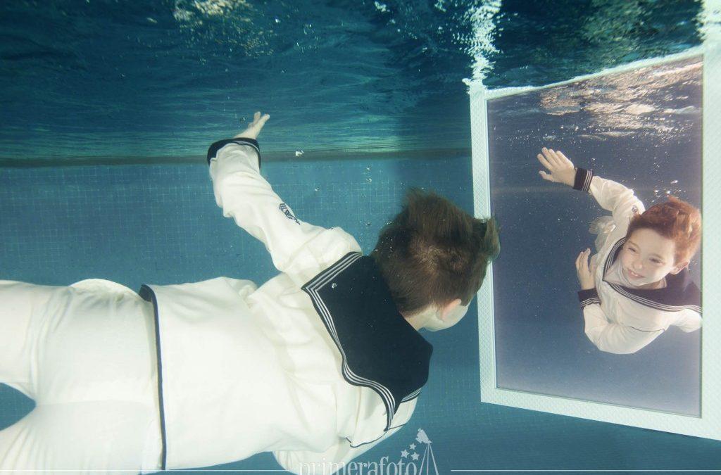 Reportajes de comunión bajo el agua
