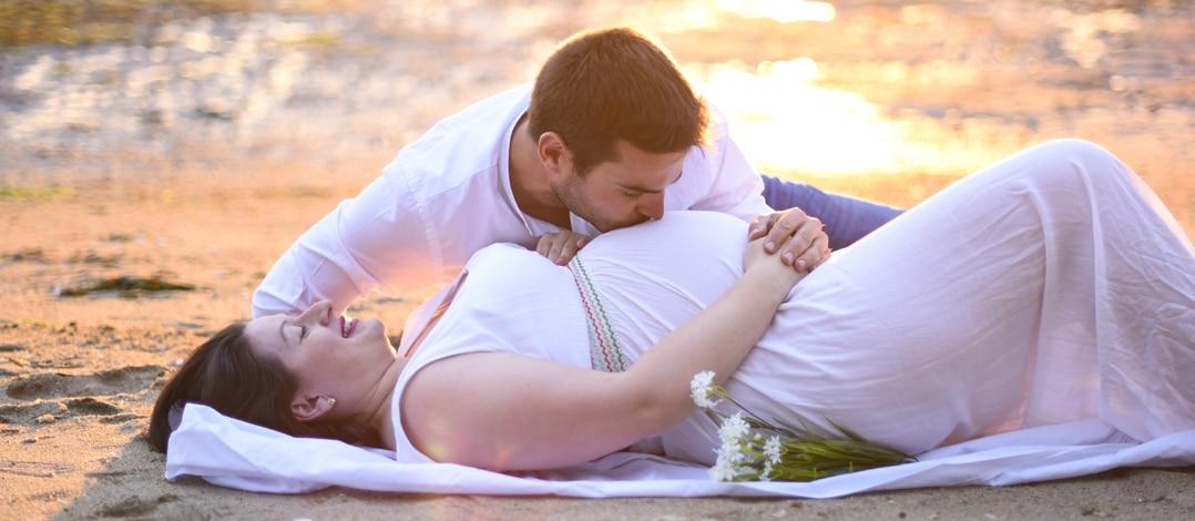 Reportaje Embarazadas Playa