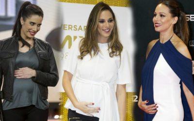 Españolas famosas que serán madres en 2018