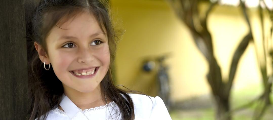 foto niña primera comunión