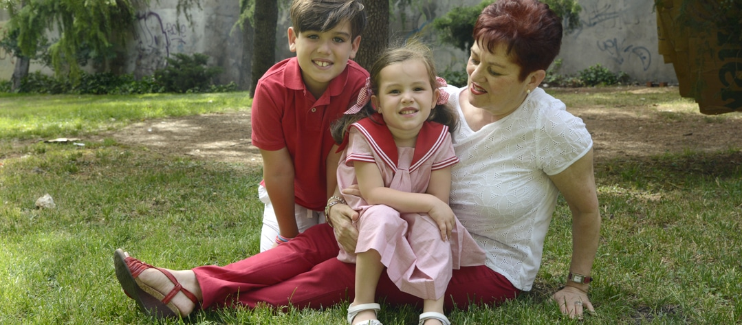 reportajes fotográficos de familias