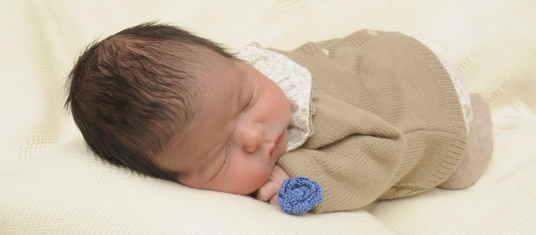 foto de bebé para su madre